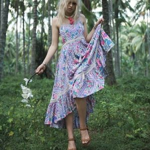 Spell & the Gypsy Babushka midi floral dress